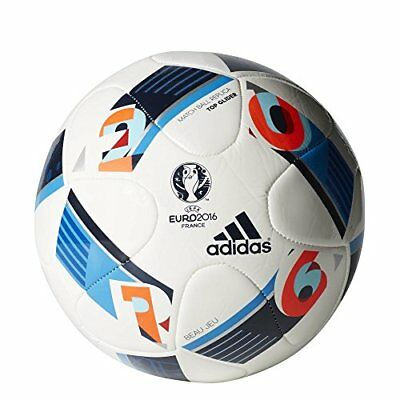 adidas Performance Euro 16 Top Glider Soccer Ball, Whit