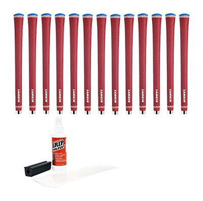 Lamkin UTx Solid Red Standard Golf Grip Kit with Tape,