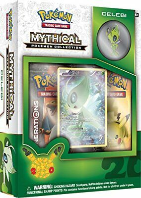 Pokemon Mythical Pokemon Collection - Celebi Trading Ca