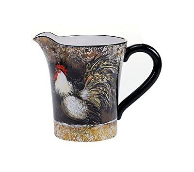 Certified International 57482 Vintage Rooster Pitcher,