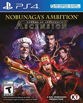 Ps4 Simulation-Nobunagas Ambition: Sphere Of Influence Asce (Us Import)  Ps4 New