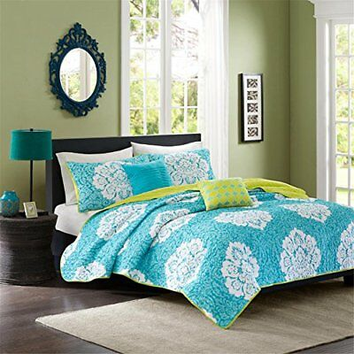 Intelligent Design Tanya 5 Piece Coverlet Set, Full/Que