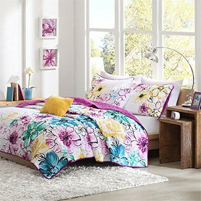 Intelligent Design Olivia 4 Piece Coverlet Set, Twin/Tw