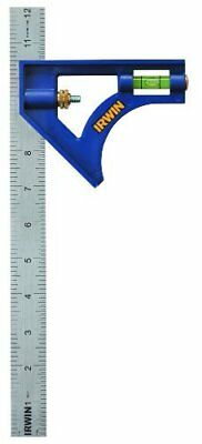 IRWIN Tools Combination Square, ABS-Body 12-Inch (17944