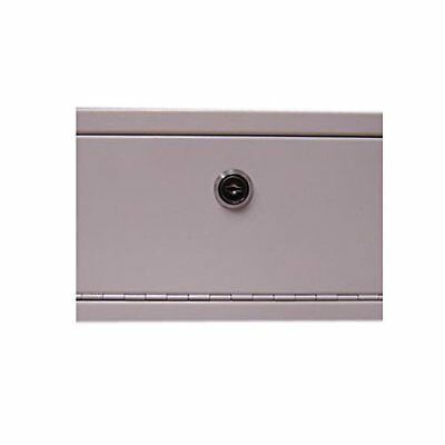 Lockable Medicine Box, 13 x 5 In.