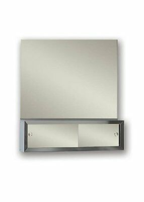 Jensen PEM2424 Polished Edge Frameless Mirror, 24-Inch