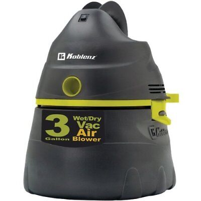 KOBLENZ WD-353 K2G US All-Purpose Power Vacuum with 3-G