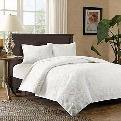 Madison Park Corrine 3 Piece Coverlet Set, Full/Queen,