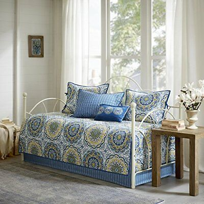 Tangiers 6 Piece Daybed Set Blue Daybed