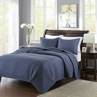 Keaton Coverlet Set-Navy-Full/Queen