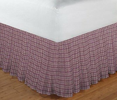 Patch Magic Red Brick and Golden Gingham Check Fabric D