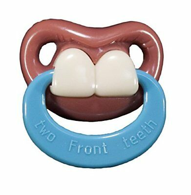 Billy Bob Teeth Binky Two Front Teeth-With Ring Pacifie