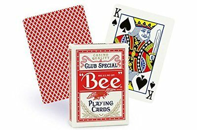 Bee Playing Cards No.92 Standard Index Single Deck (red