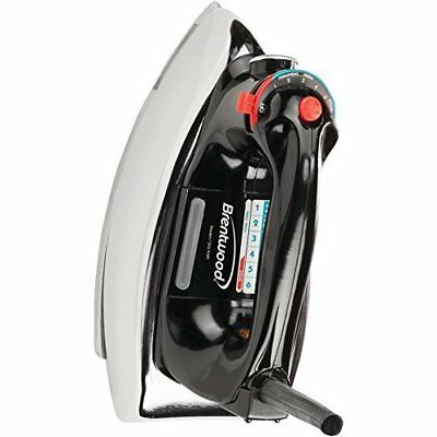 BRENTWOOD MPI-70 Classic Nonstick Steam/Dry Iron Home,