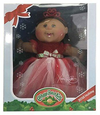 Cabbage Patch Kids 2016 Holiday Red And White Dress, Et