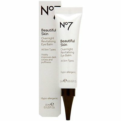 Boots No7 Beautiful Skin Overnight Revitalising Eye Bal