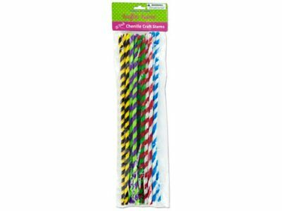 Chenille craft stems - Case of 48