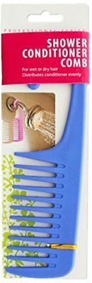 bulk buys BI525 Shower Conditioner Comb with Hook