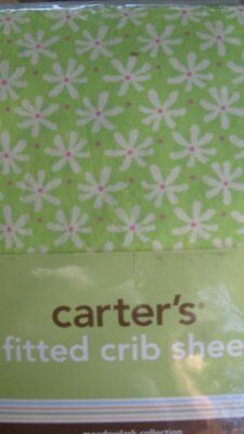Carter's Meadowlark Collection Fitted Crib Sheet