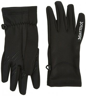 (Large, Black) - Marmot Women's Connect Softshell Glove. Free Shipping