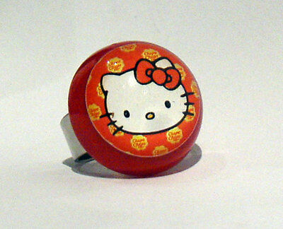 HELLO KITTY SANRIO CHUPA CHUPS Ring größenverstellbar