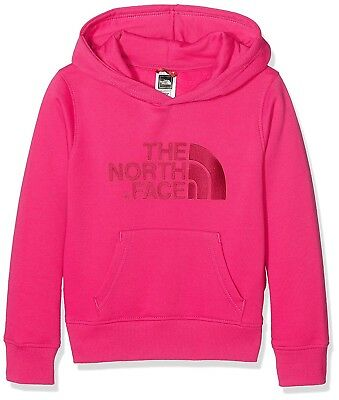 (X-Small, Pink/Cabaret Pink) - The North Face Children's Drew Peak Pullover