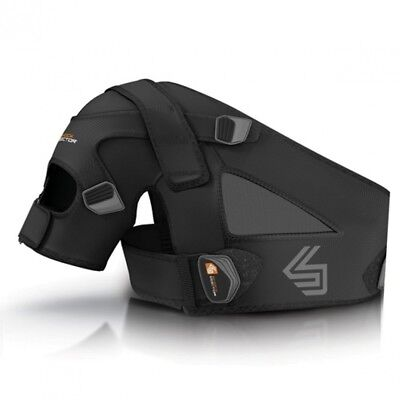 (Small/Medium, Black) - Shock Doctor Shoulder Support (Black). Delivery is Free