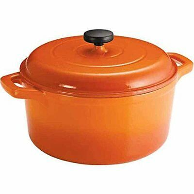 Dutch Oven Cast Iron 6.5 Qt Enameled Round True Classic