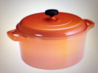 Tramontina 6.5 Qt Enameled Round Cast Iron Dutch Oven,