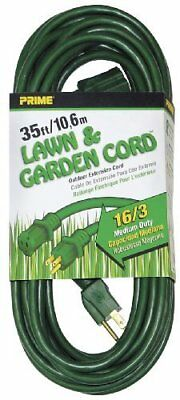 Prime Wire & Cable EC880627 35-Foot 16/3 SJTW Lawn and