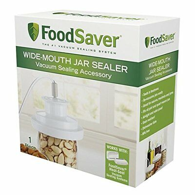 Wide-Mouth Jar Sealer, New, Free Shipping