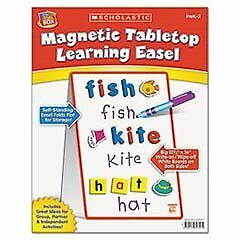 ** Magnetic Tabletop Learning Easel, Ages 4-7 **