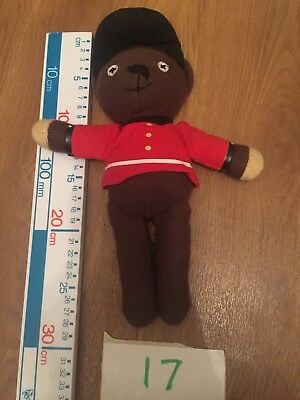 Mr Bean Teddy Bear Wearing Changing Of The Guard Outfit Plush Soft Toy