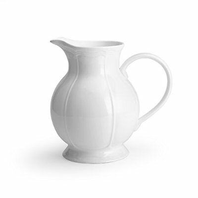 Mikasa Antique White Pitcher, 62-Ounce