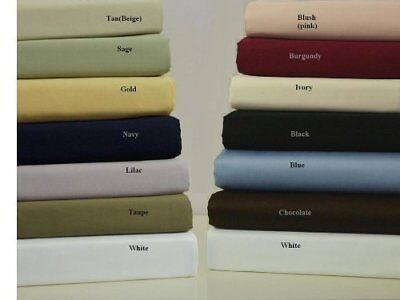 Queen Size Burgundy 100% Brushed Polyester Microfiber S