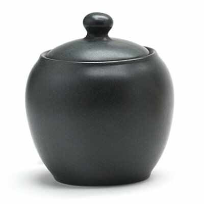 Noritake Colorwave Sugar Bowl with Cover, Graphite