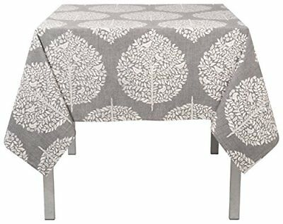 Now Designs 60 by 90 inch Cotton Tablecloth, Elmwood Gr