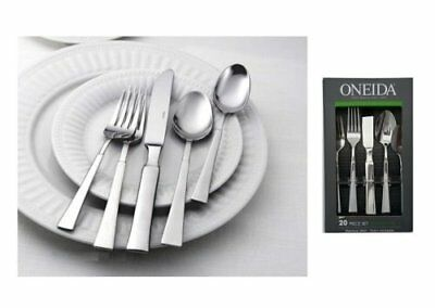 Oneida Purity 20 Piece Service for 4 Stainless Flatware
