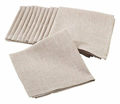 Saro LifeStyle 731.N20S  Plain Dinner Napkin, Natural,