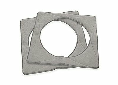 2 pcs Replacement Microfiber Cleaning Pads for ECOVACS