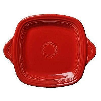 Square Serving Tray Color: Scarlet