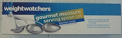 Weight Watchers Gourmet Easy Measure Serving Spoons