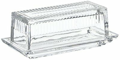The Jay Companies 317088-GB Genevieve Butter Dish, Clea