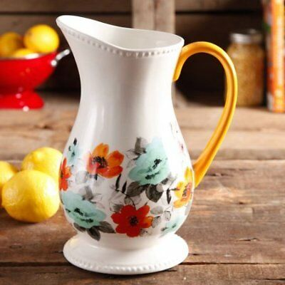 The Pioneer Woman Flea Market Decorated Floral 2-Quart