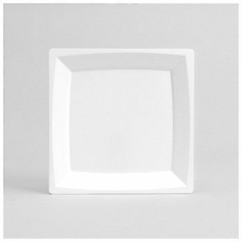 """Mil¤n Plate Lunch White 9"""""""