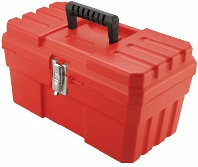 Akro-Mils 9514 14-Inch ProBox Plastic Tool Box, Red by