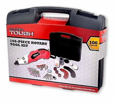 Hyper Tough 106 Piece Rotary Tool Kit by Wal-Mart