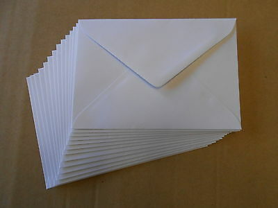 "25 x 130x185mm (fits 5x7"" photo)  Envelopes 100gsm premium white."