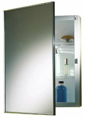 PROPLUS 592047 Recessed Swing-Door Medicine Cabinet wit