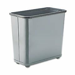 Rubbermaid Fire-Safe Wastebasket RCPWB30RGY